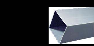 Buizen - Vierkante - PVC