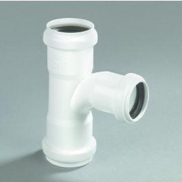 Té PPC 50x40mm 90° FFF à joints blanc