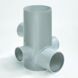 Chambre PVC 250/500mm 2x110-1x125-2x160mm (4)