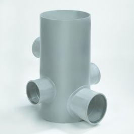 Chambre PVC 315/600mm 3x125-1x160mm (5)