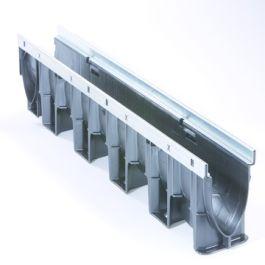Afvoergeul Xtradrain X100X150mm kunststof 1m