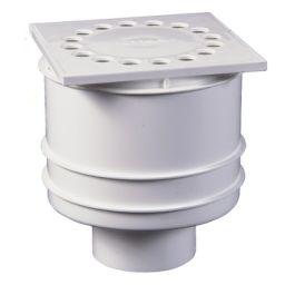 ABS Siphon de douche 10x10 Verticale