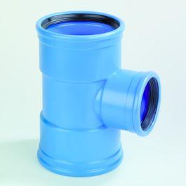 DykaSono T-stuk 50mm 90° 3FM Blauw