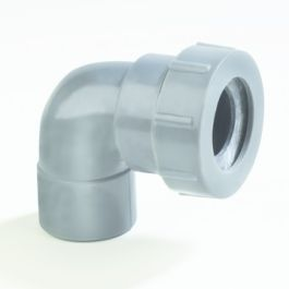 Coude pour raccorder siphon 32mm