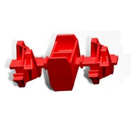 Duborain Rainbox 3S klikker rood