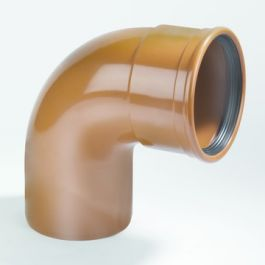 PVC Coude 110mm 87°30 MF Robr SN8