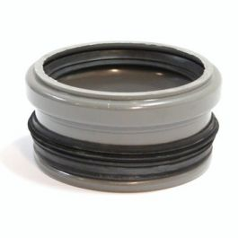 PVC Manchon à butée renforcé 125mm gris