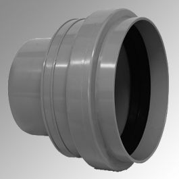 Overgangstuk PVC-PP 125/Grès (spie) ND125 Robr