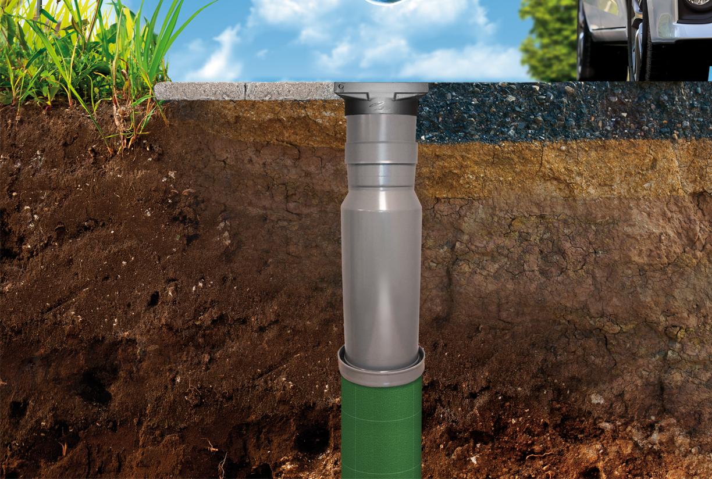 Collecter l'eau de pluie avec V-flow