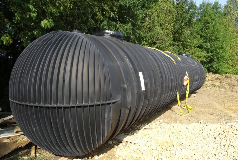 Regenwater tanks opslag grote volumes