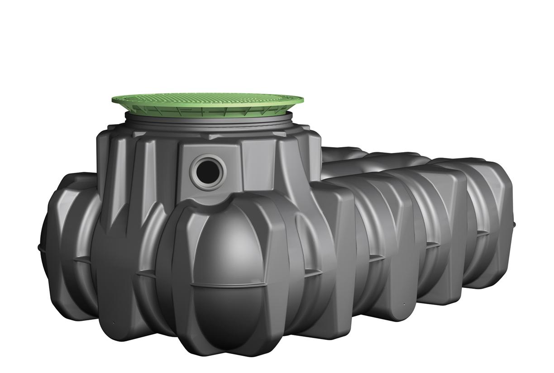 Regenwatertanks voor groenzones