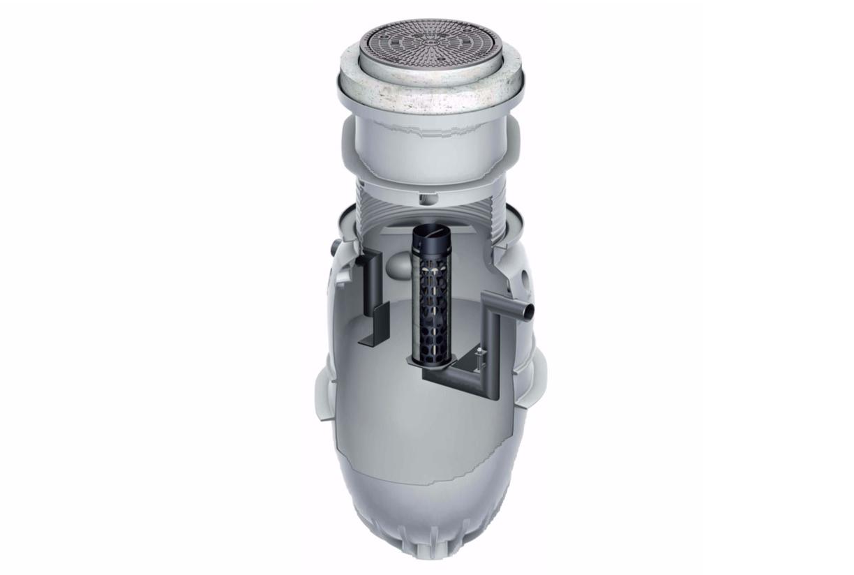 Séparateurs d'hydrocarbures pour l'eau de pluie